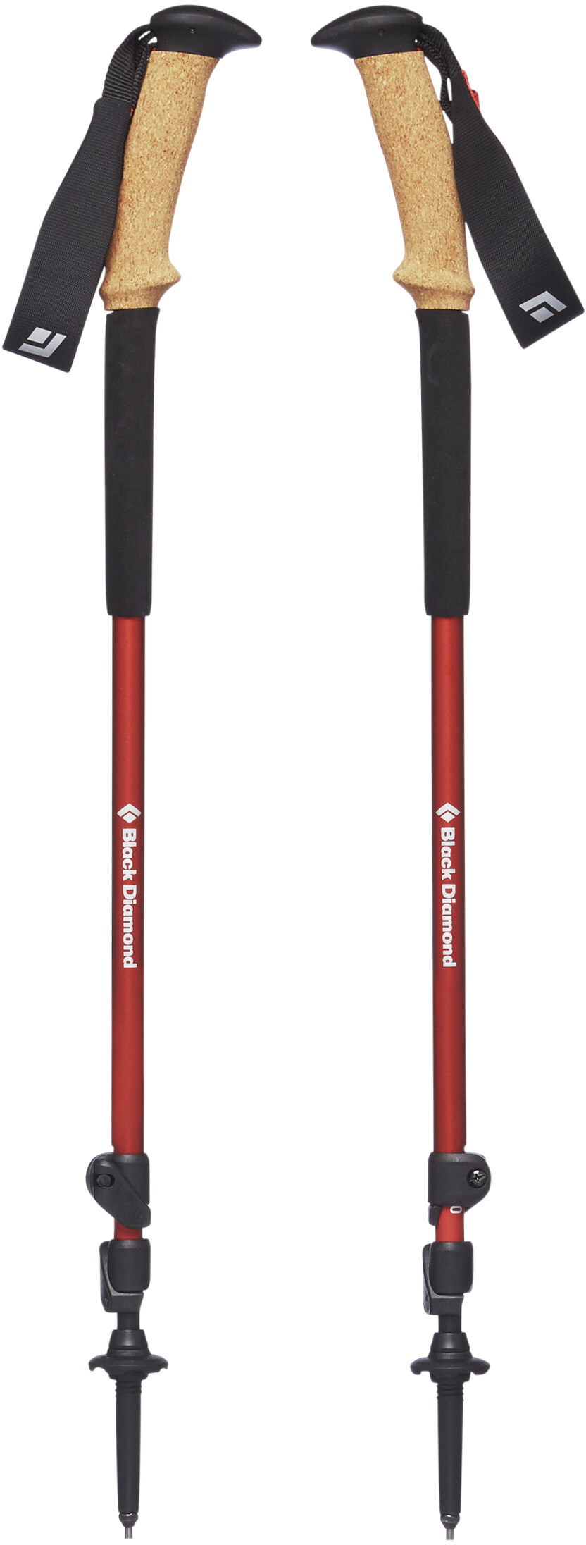 Black Diamond Trail Ergo Cork Trekking Poles Picante